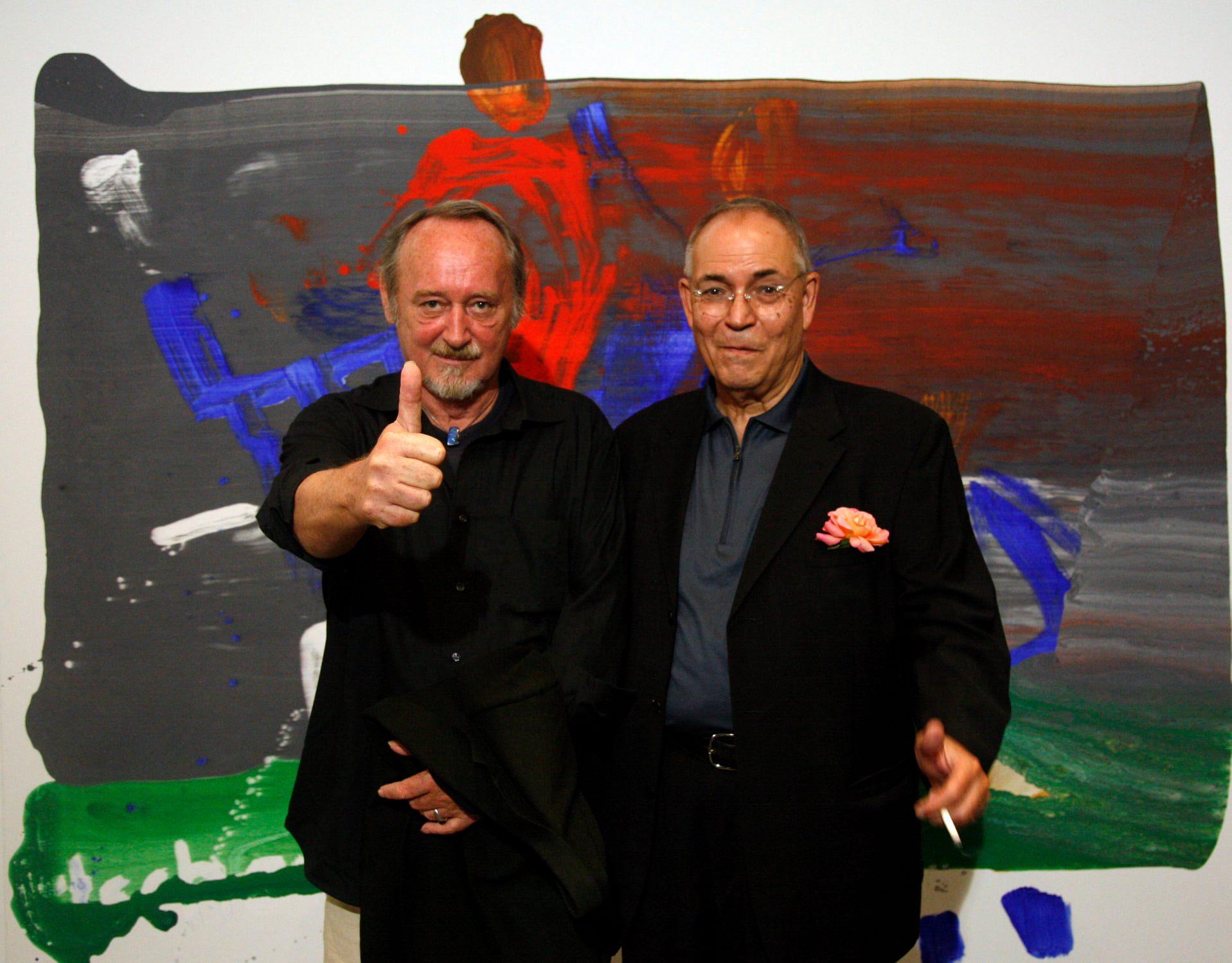 Karl Horst Hödicke & Michael J. Wewerka, © Jirka Jansch, Berlin 2006